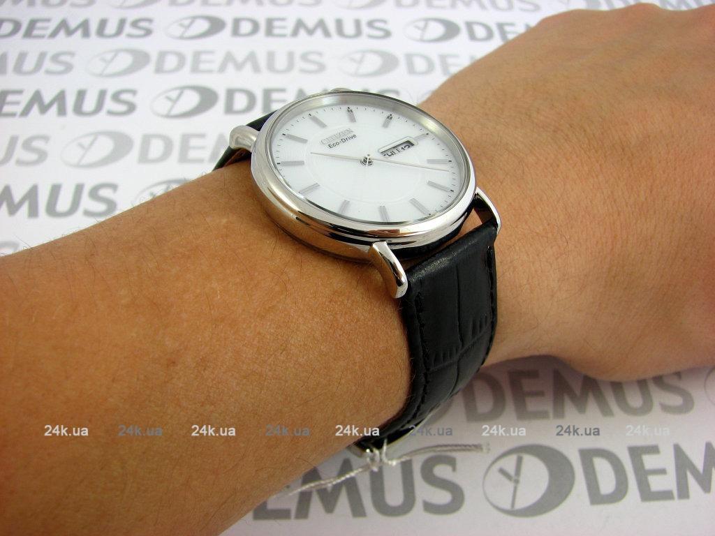 Модные кварцевые часы - серебристые