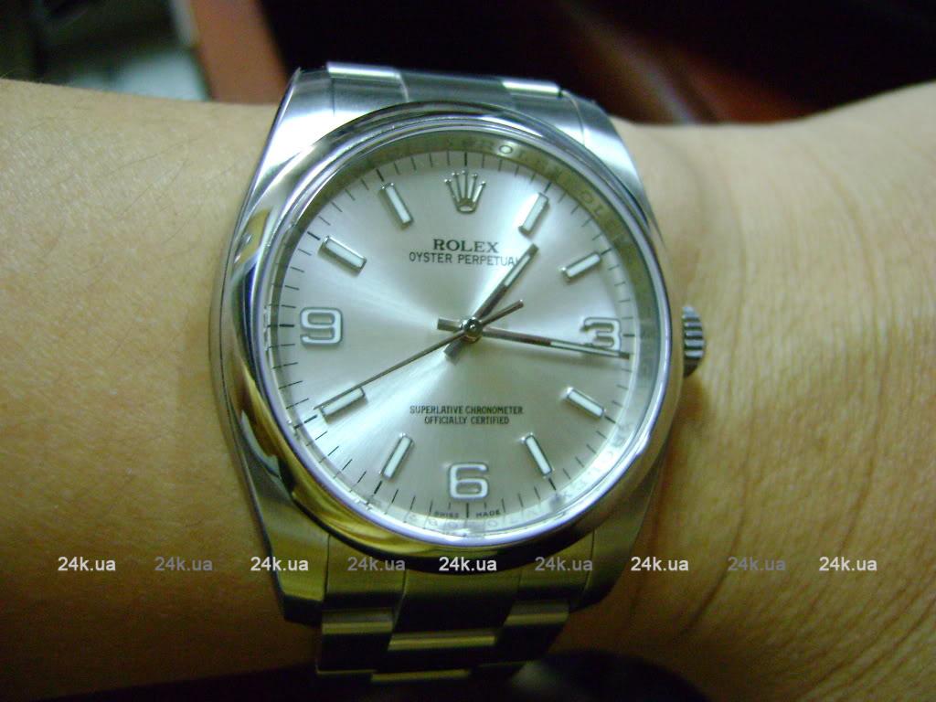 наручные серебрянные мужские часы