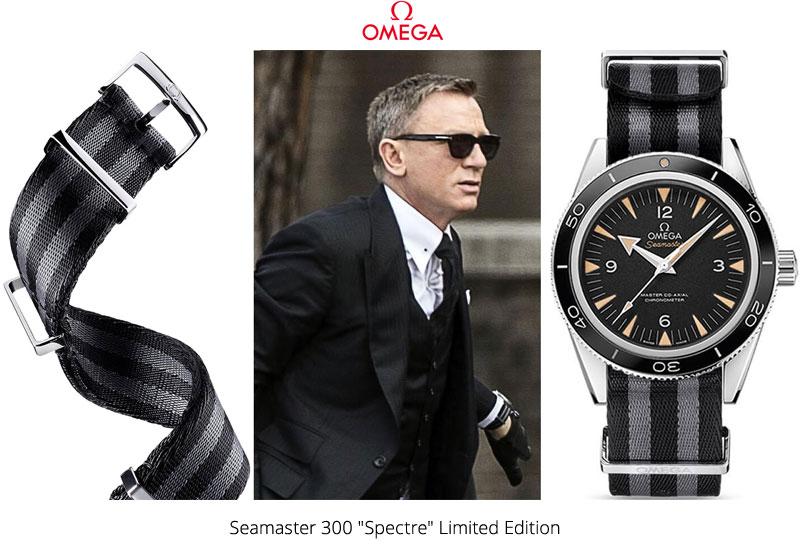Часы Джеймса Бонда Omega Seamaster 300 Spectre Limited Edition