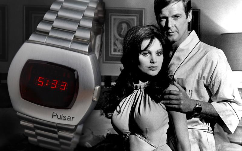 Часы Джеймса Бонда Hamilton Pulsar