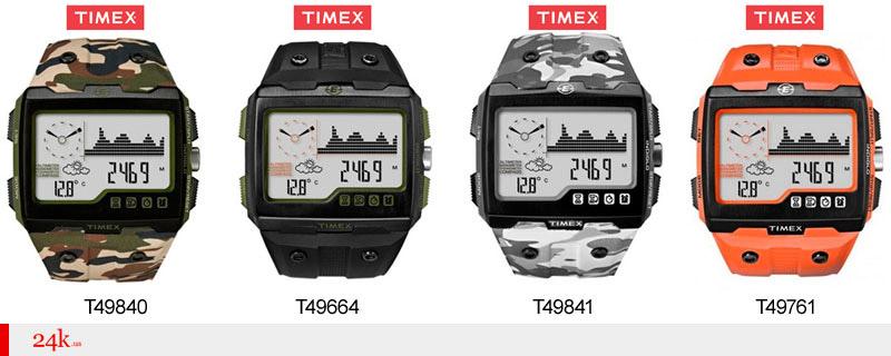 Часы Timex с барометром