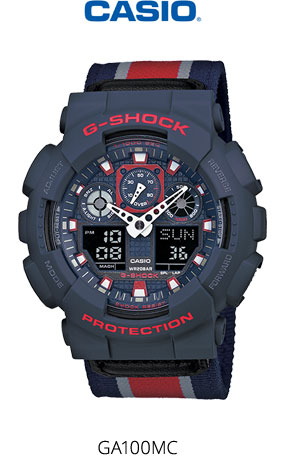Часы Casio G-Shock GA-100MC