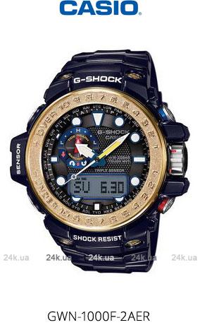 Часы Casio GWN-1000F-2AER
