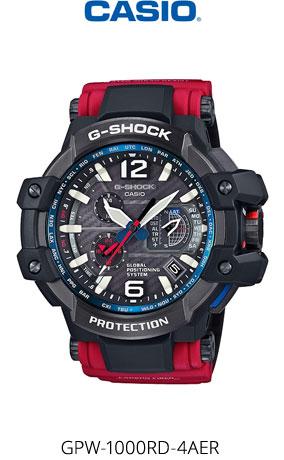Часы Casio G-Shock GPW-1000RD-4AER