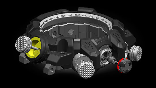 Механизм часов Casio MudMaster