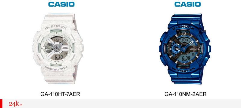 Новые модели Casio G-Shock