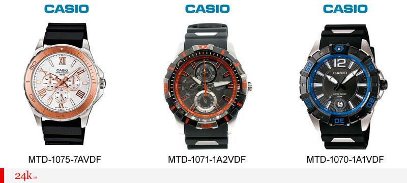 Новые часы Касио 2016