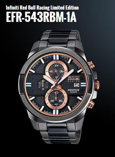 Часы Casio EFR-543RBM-1A