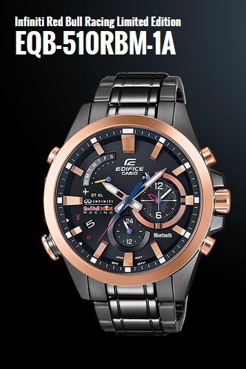 Часы Casio EQB-510RBM-1A