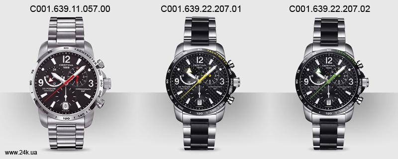 Стильные модели часов Certina DS Podium GMT