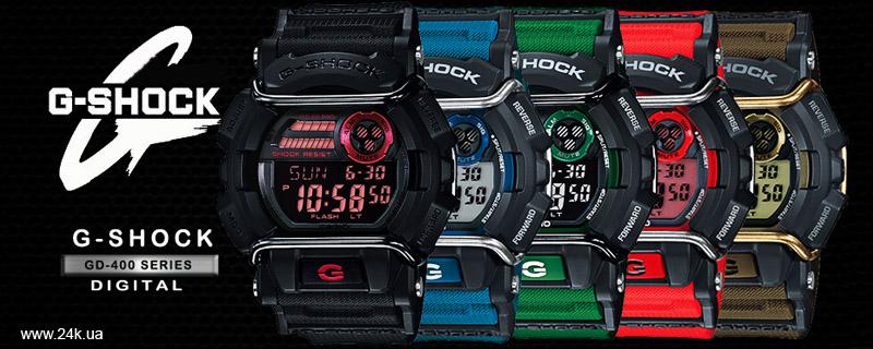 Прочные часы Casio G-Shock