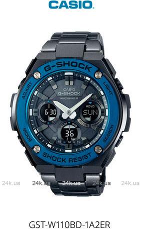 Часы Casio GST-W110BD-1A2ER
