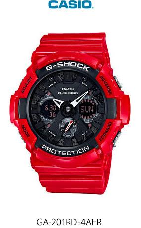 Часы Casio GA-201RD-4AER