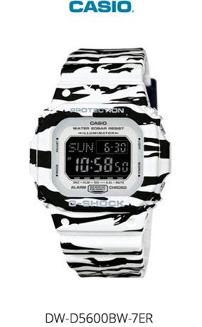 Часы Casio DW-D5600BW-7ER