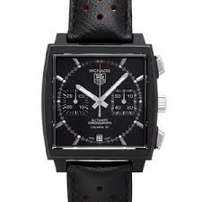 TAG Heuer  представляет Black Edition Monaco Chronograph