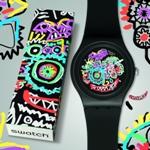 Swatch представляет часы Off, Blue Wild Face и Wild Face