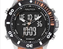 Первая коллекцию аналогово-цифровых часов BFD 101 Ana-Digi от Nautica