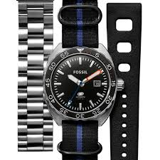 Fossil  представляет первые дайверские часы Breaker Diver Automatic