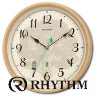 Обзор новых интерьерных часов RHYTHM: разнообразие форм, красок и стилей