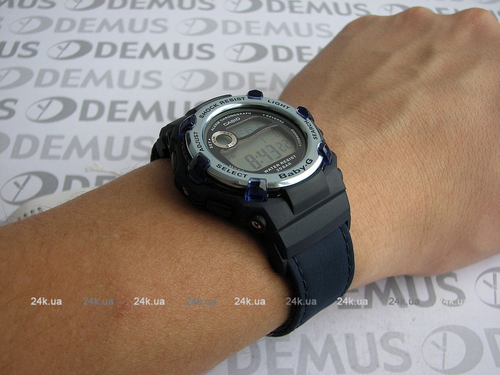 Женские часы Casio BG-3002V-1E Мужские часы Luminox XS.3501.BO.TV.SET