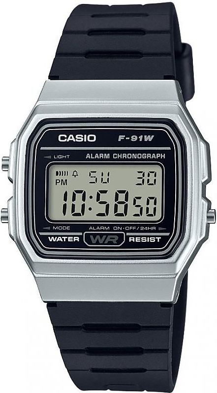 Часы Casio F-91WM-7AEF