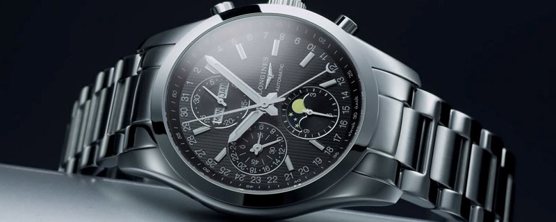 Часы Longines Conquest Classic Moonphase