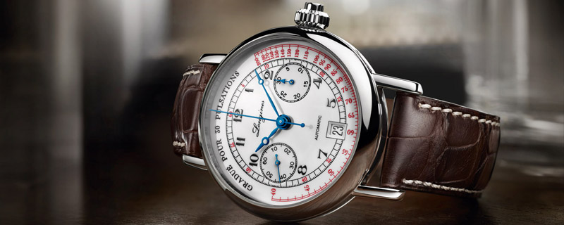 Часы Longines Chronograph Pulsometer