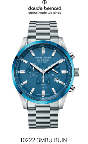 Часы Claude Bernard 10222 3MBU BUIN