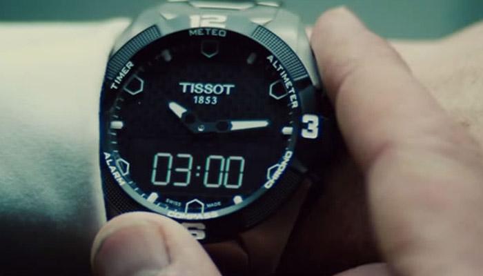Часы Tissot в фильме Миссия Невыполнима 5