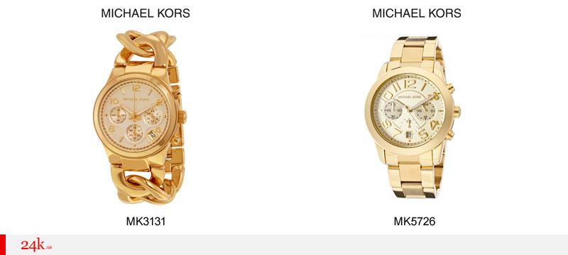 Необычные часы Майкл Корс