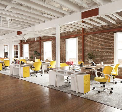 Офис в неорганическом стиле