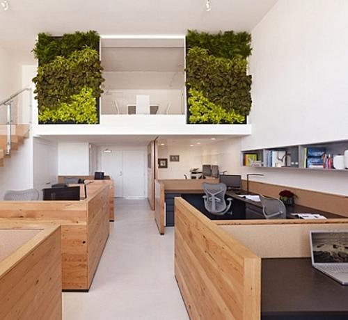 Часы для офиса в экологичном стиле