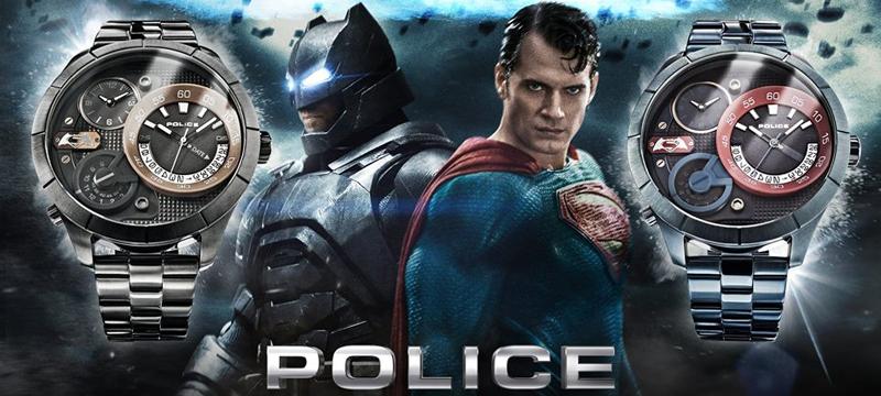Часы Police Бэтмен против Супермена