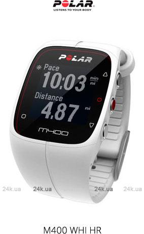 Часы Polar M400 WHI HR