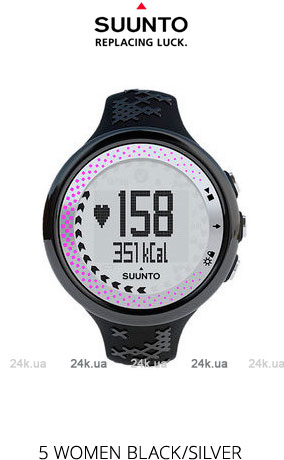 Часы Suunto M5 WOMEN BLACK/SILVER