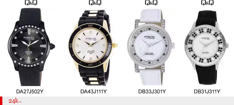 Стильные часы Q&Q Attractive
