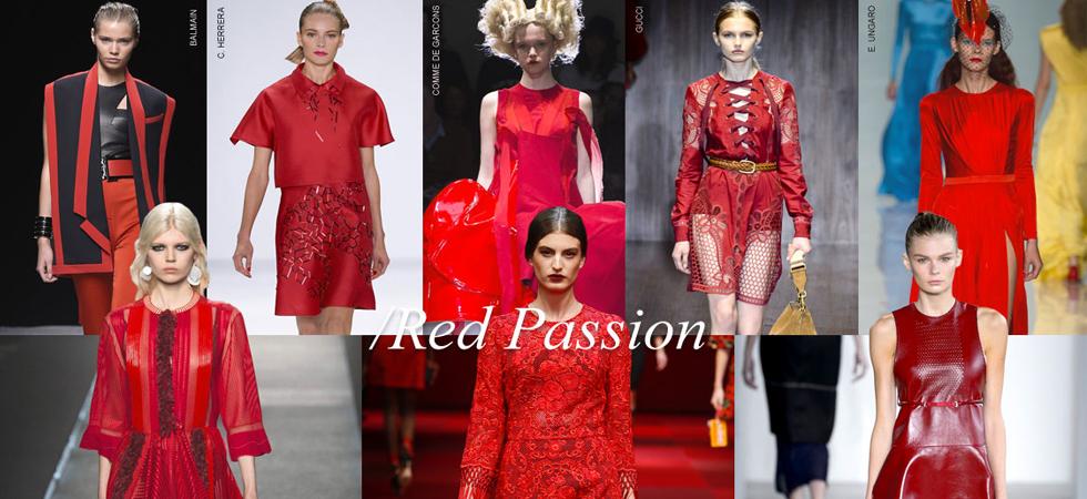 Красный в модном тренде 2015