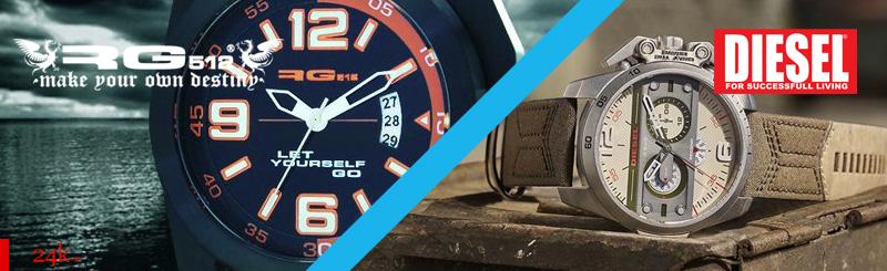 Часы RG 512 и Diesel