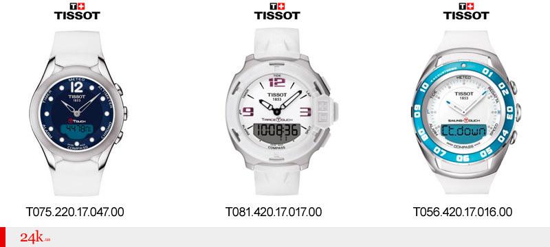 Женские сенсорные часы Tissot