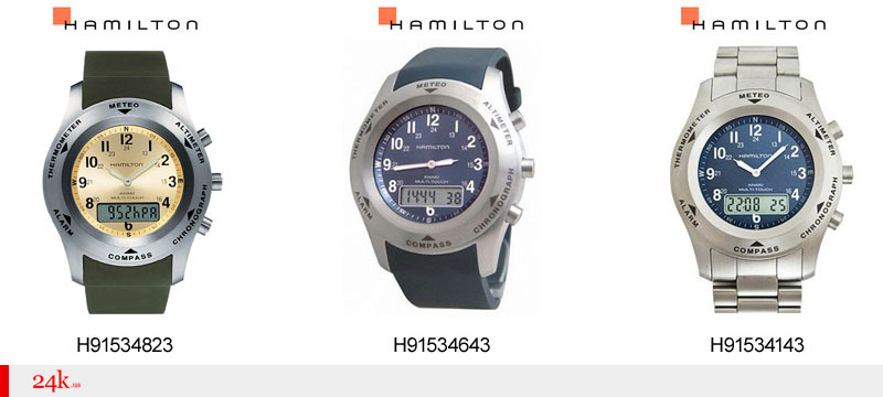 Сенсорные часы Hamilton