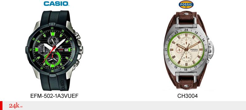 Часы спидометр от Casio и Fossil