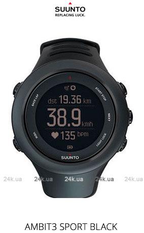Спортивные часы Suunto AMBIT3 SPORT BLACK