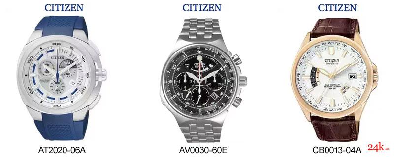 Часы Citizen на солнечной батарее