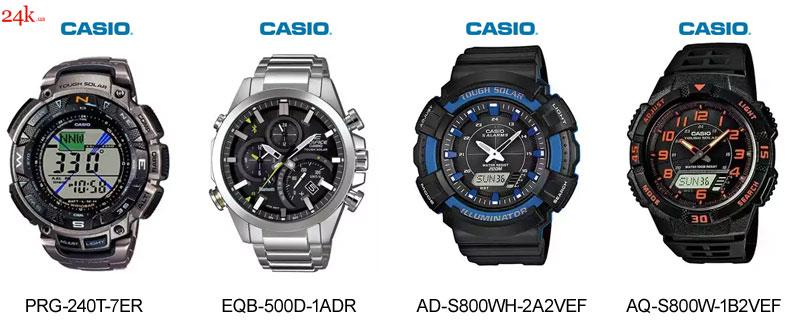 Часы Casio на солнечной батарее
