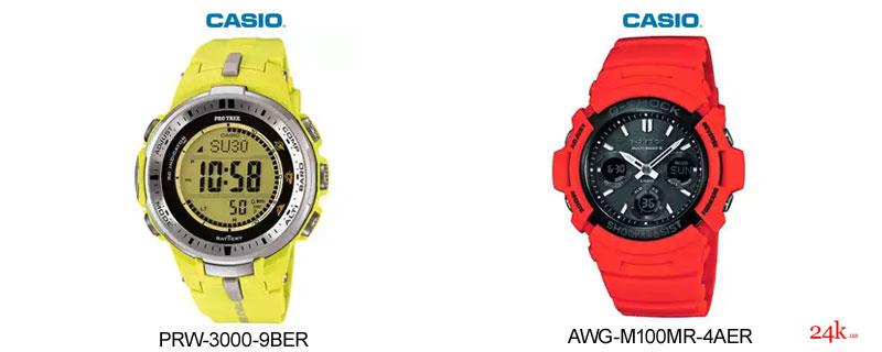 Солнечные часы Casio
