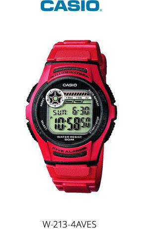 Часы Casio W-213-4AVES