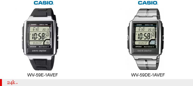 Часы с синхронизацией времени от Casio
