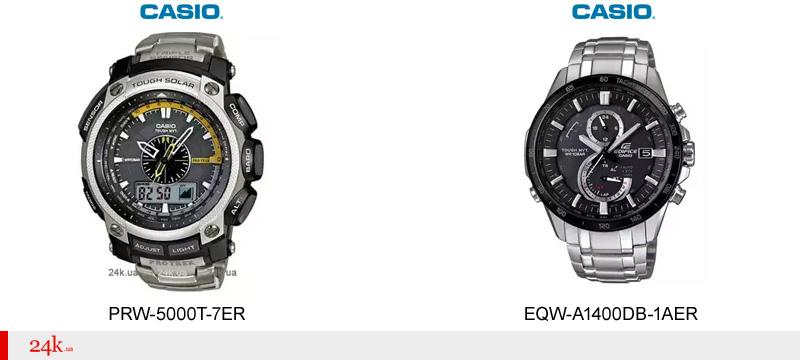 Часы Casio с синхронизацией времени