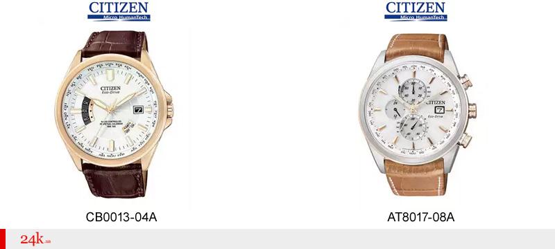 Часы Citizen с синхронизацией времени