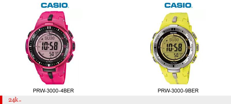 Женские часы Casio с синхронизацией